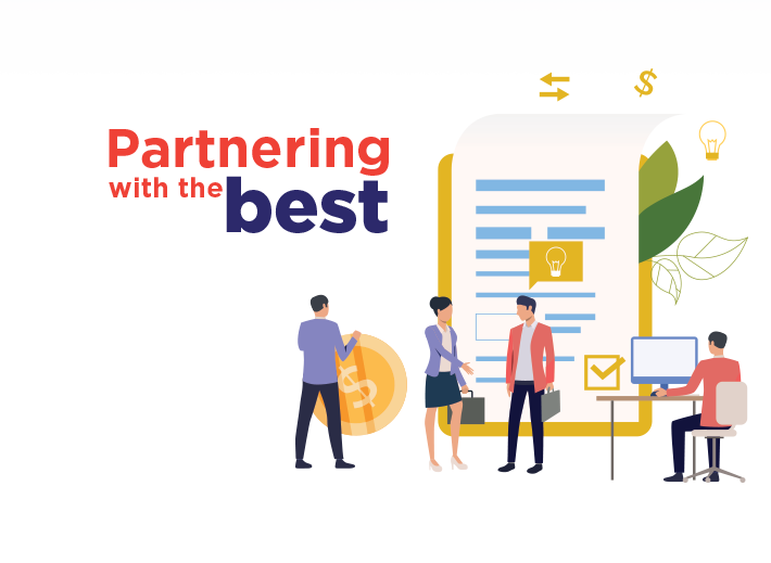 partnering with the best