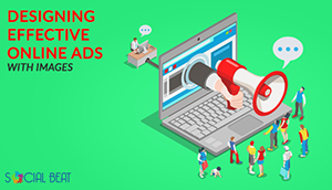 Designing effective online ads with images