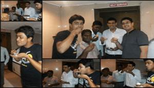 Bidding Farewell to Abhishek with 140 Pani Puri's