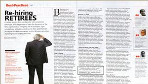 Re-hiring Retirees: Social Beat Advisor Jagdish gets featured in Small Medium Entrepreneur Magazine