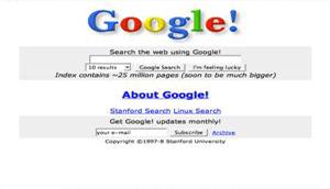 Happy Birthday Google : 1998 – 2013 ( 15 Years)