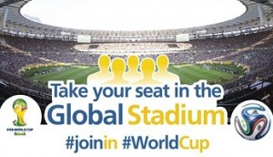 FIFA World Cup 2014 Digital Marketing Campaign – for #WorldCup fans to #JoinIn