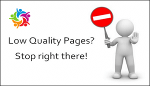 Google's war against low quality or thin content: Tips for search engine optimization