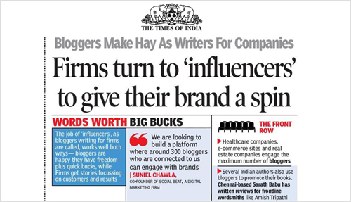 Our co-founder Suneil Chawla featured in The Times of India