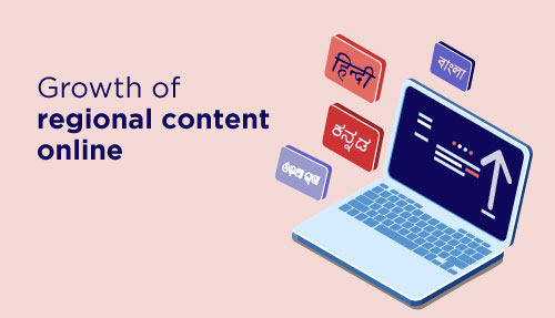 Growth of Regional Content Online