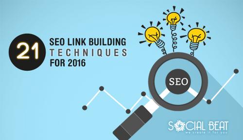 21 SEO Link Building Techniques for 2016
