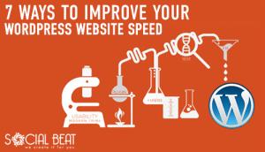 7 Ways to Improve Your WordPress Website Speed