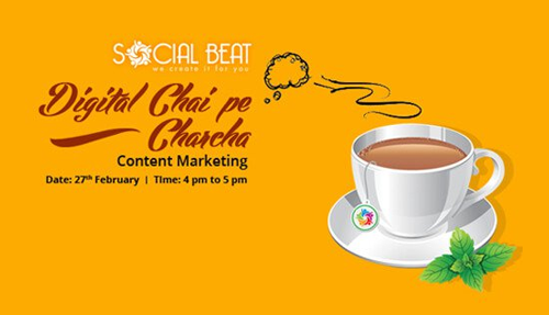 Digital Chai Pe Charcha – Content Marketing Success in 2016