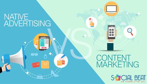 Content Marketing vs Native Advertising