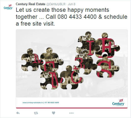 Century Real Estate -Twitter