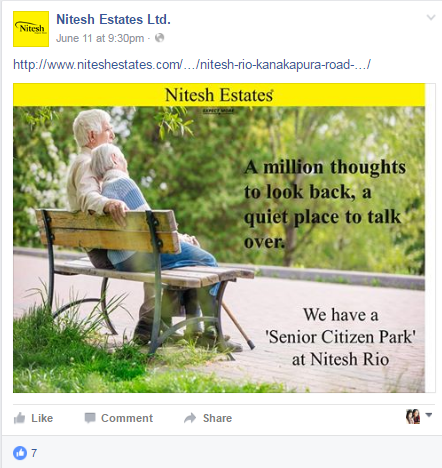 Nitesh Estates-fb