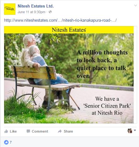 Nitesh Estates-fb