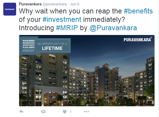 Puravankara-Twitter