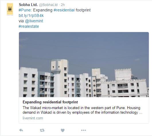 Sobha Ltd.-Twitter
