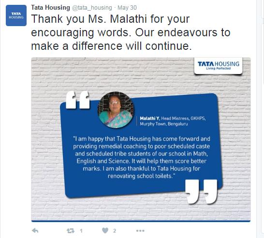 Tata Housing-Twitter