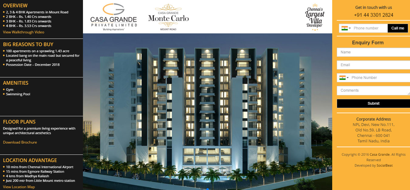 Casa Grande Monte Carlo