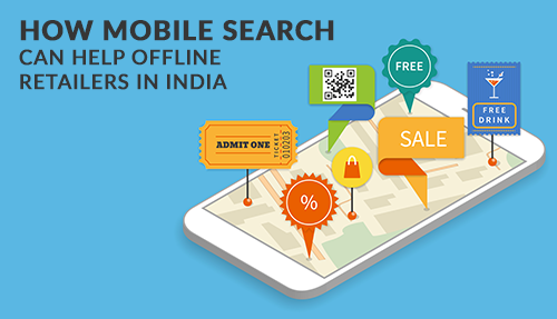 How mobile search can help offline retailers in India