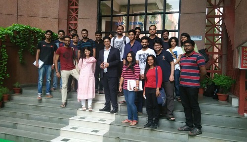Vikas at MDI, Gurgaon on Role of Content & Influencer Marketing