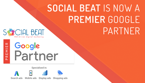 Social Beat becomes Premier Google Partner