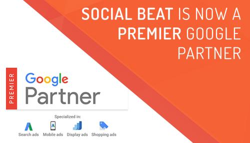 Social Beat becomes Premier Google Partner