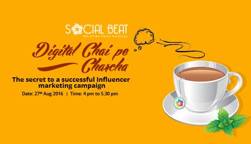Secret to Successful Influencer Campaign – Digital Chai Pe Charcha, Chennai