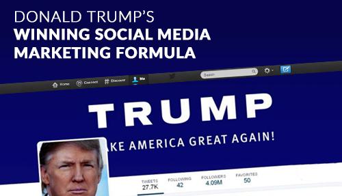 Donald Trump's Winning Social Media Marketing Formula