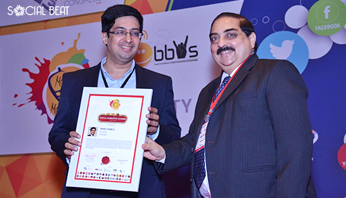 Vikas awarded as Most Influential Digital Marketing Leader