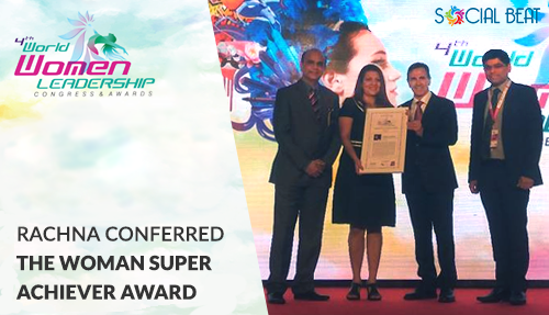 Rachna wins Women Super Achiever award