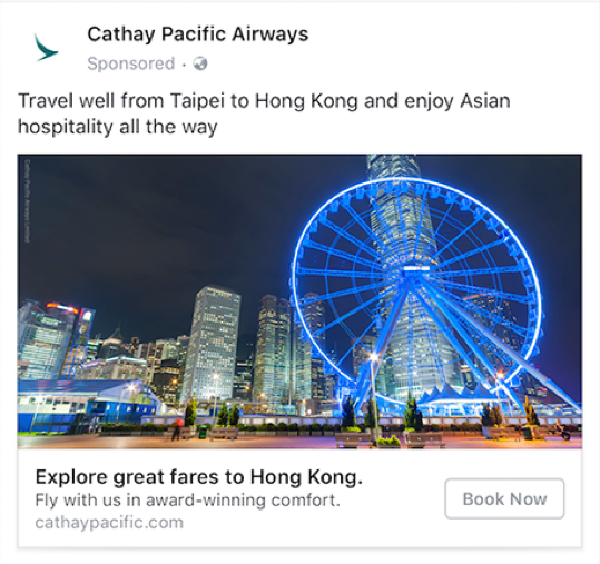 Smart Targeting Cathay pacific
