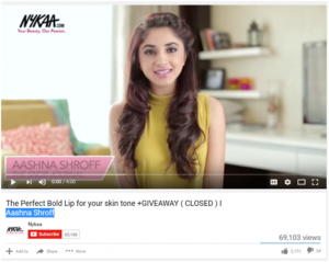 Nykaa Influencer Marketing