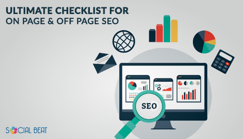 on page seo and off page seo checklist
