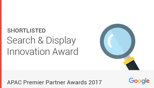 Social Beat Nominated for Search & Display Innovation 2017 by Google