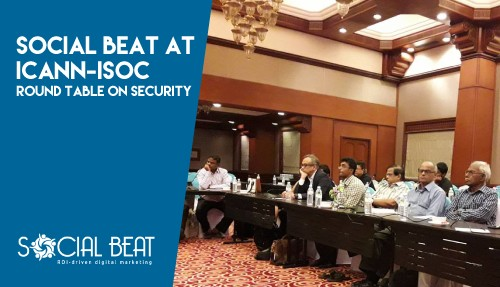 Social Beat at ICANN-ISOC Round Table on Security