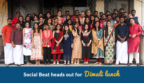 Social Beat heads out for Diwali lunch