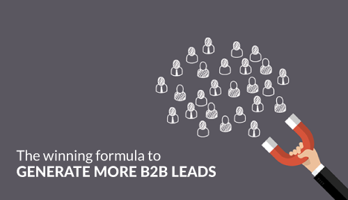 The winning formula to generate more B2B leads