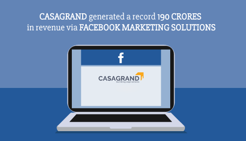 Social Beat's Casagrand Case Study Published by Facebook
