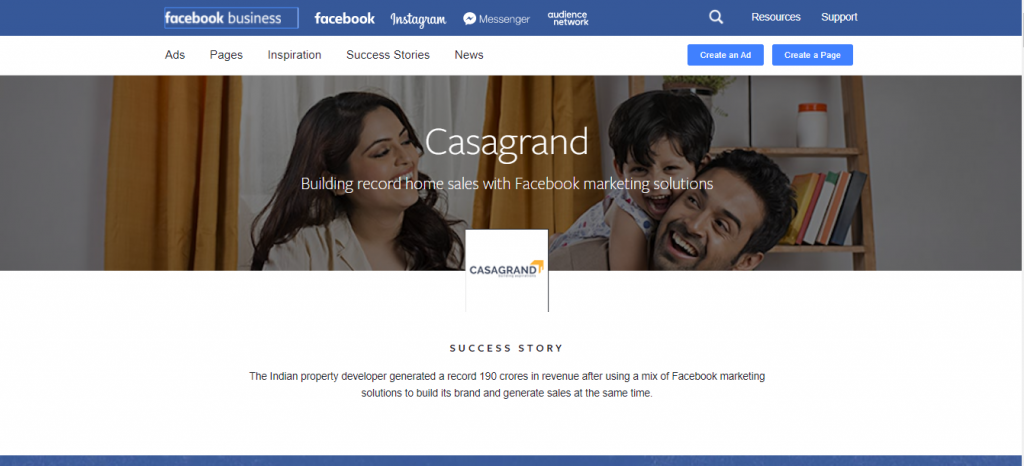 CG Facebook Case Study