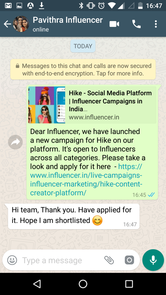 Whatsapp messaging tools