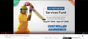 Masthead ad for Sundaram Mutual