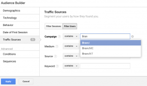Brand Source Audience Builder