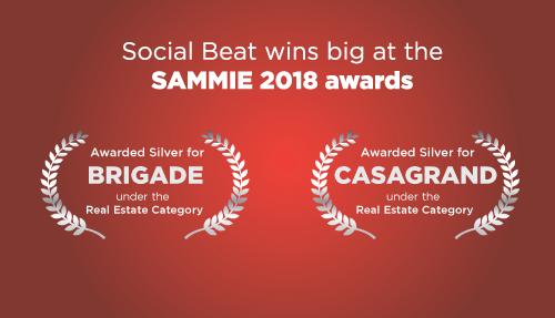 Social Beat wins big at the SAMMIE 2018 awards