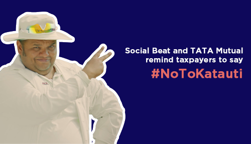 Social Beat and TATA Mutual remind taxpayers to say #NoToKatauti
