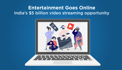 Entertainment Goes Online- India's $5 billion video streaming opportunity