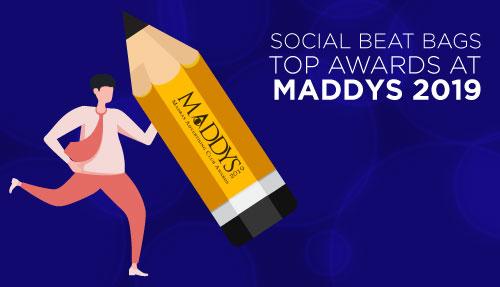Social Beat bags top awards at Maddys 2019