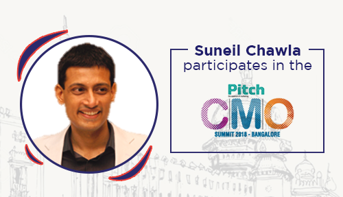 Suneil Chawla participates in the Pitch CMO Summit in Bangalore