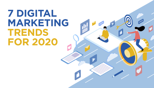 Top Digital Marketing Trends 2020 – What does the future behold?