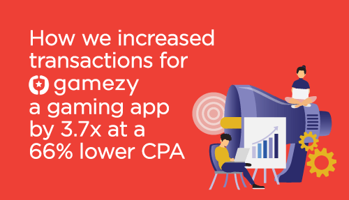 How we Increased Transactions for a Gaming App by 3.7x at a 66% Lower Cost with Programmatic Advertising
