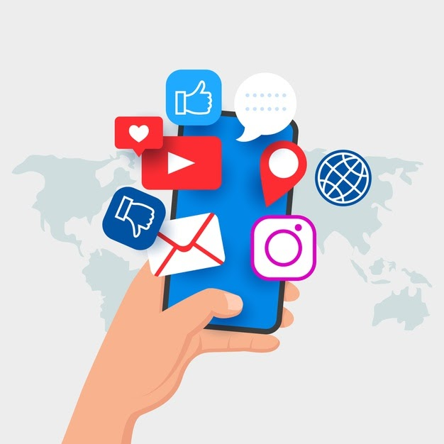 social media marketing mobile phone concept 23 2148416469