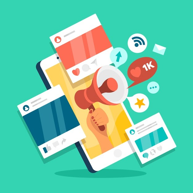 social media marketing mobile phone concept 23 2148433150